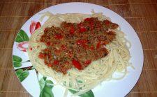 La pasta peperoni e tonno con la ricetta facile