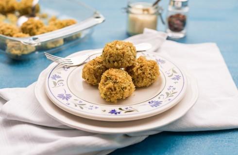 Polpette di quinoa e zucchine: per i vegetariani