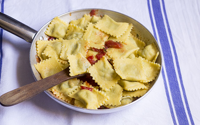 ravioli di melanzane step10