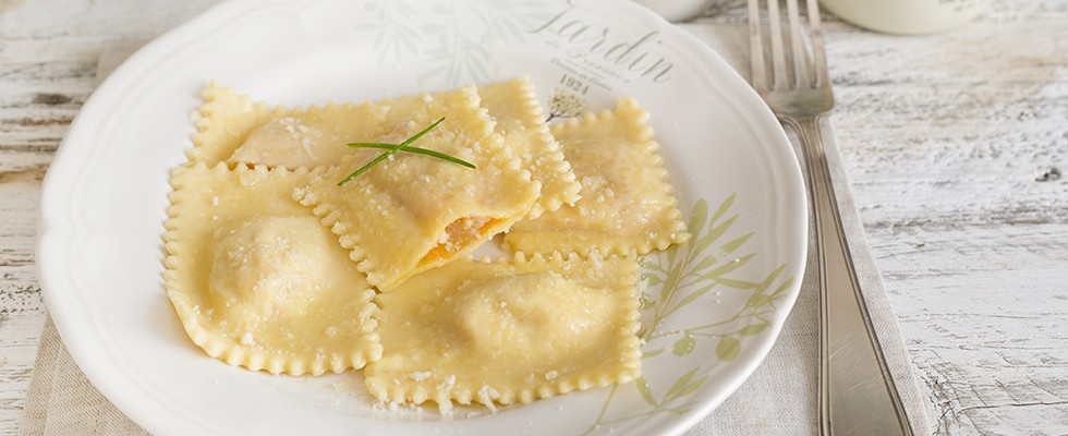 Ravioli mantovani all'orata