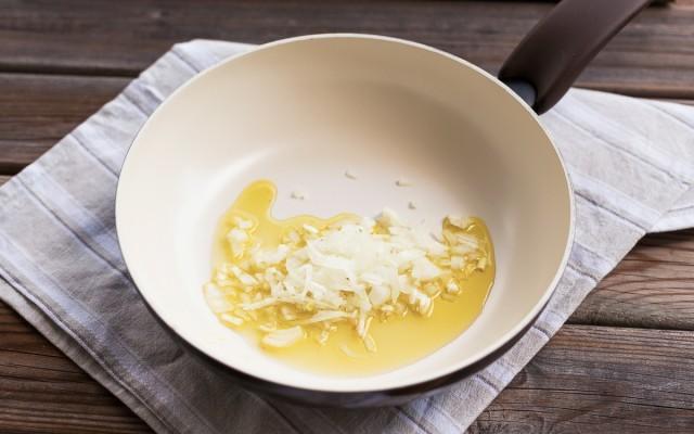 risotto con scarola mandarino e branzino (2)