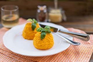 Sformato di carote, secondo vegetariano