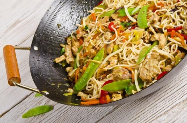 cottura nel wok
