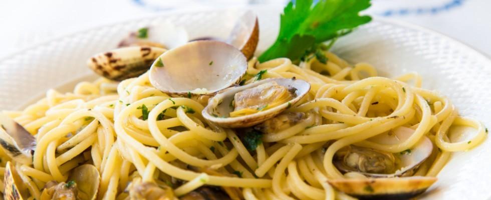 Il mare nel piatto: spaghetti alle vongole