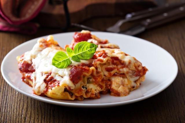 lasagna con ricotta