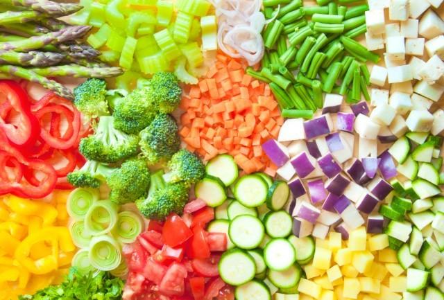 verdure tagliate