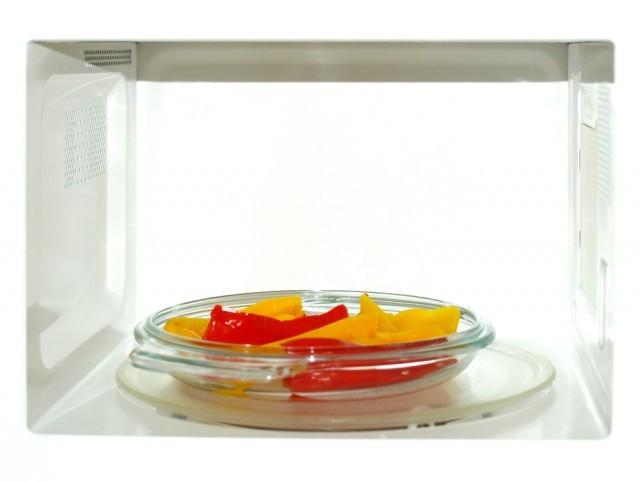 peperoni nel microonde