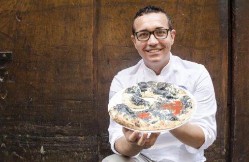 Pizza Modigliani, Sorbillo celebra il grande artista