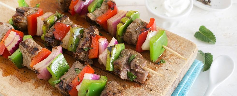 Shish kebab: spiedini mediorientali