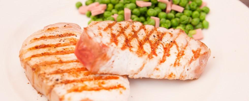 Filetto di maiale alla griglia: leggero