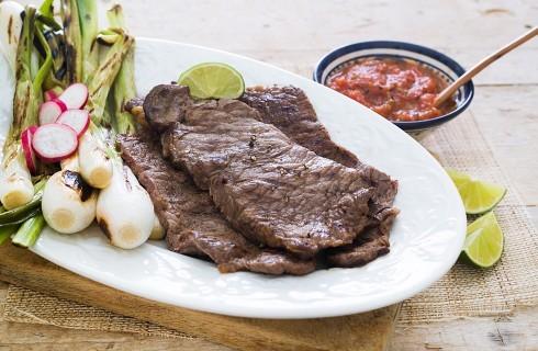 Carne asada: secondo piatto di carne