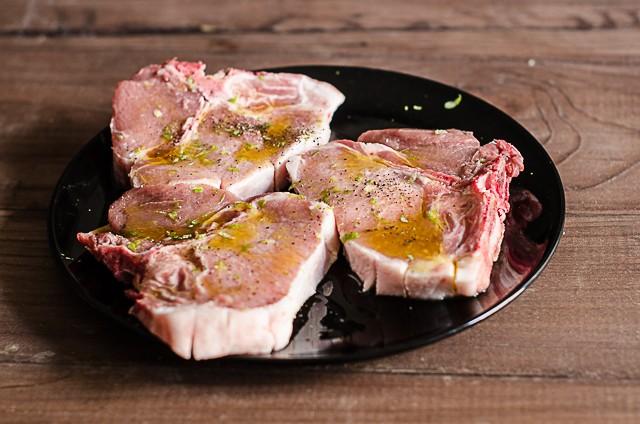 Costolette di maiale al forno (2)