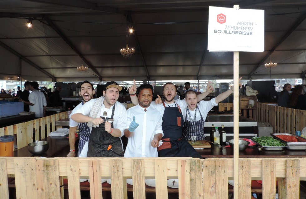 Cartoline dal Flemish Food Bash 2015 - Foto 33