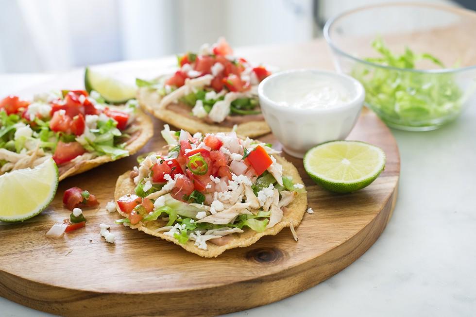 Tostadas dalla cucina messicana agrodolce - Cucina messicana roma ...