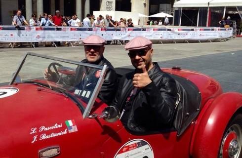 Joe Bastianich al volante di Top Gear Italia