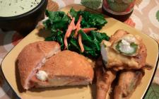 Cordon Bleu di pollo con zucchine: la ricetta light de La Prova del Cuoco
