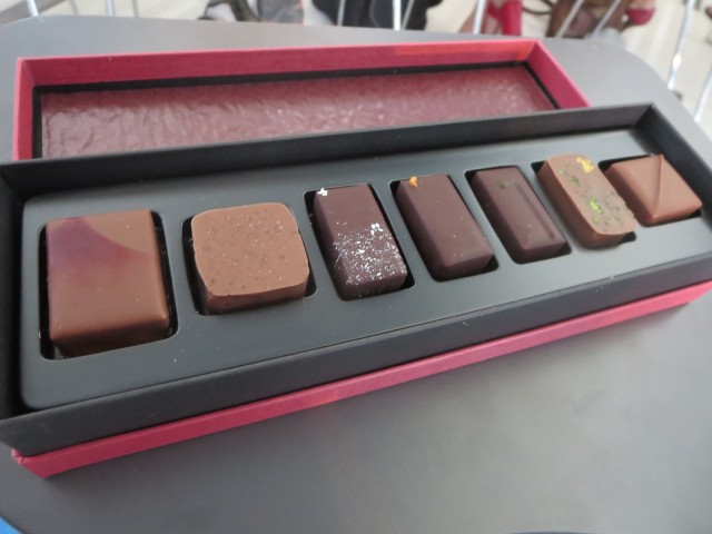 degustazione di cioccolati