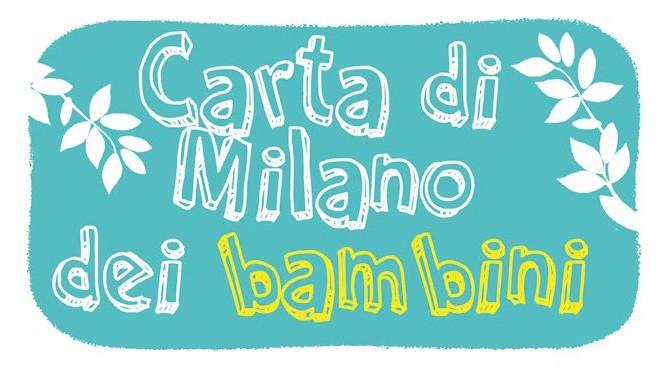 """Expo 2015: """"Cibo buono per tutti"""". La Carta di Milano per i bambini"""