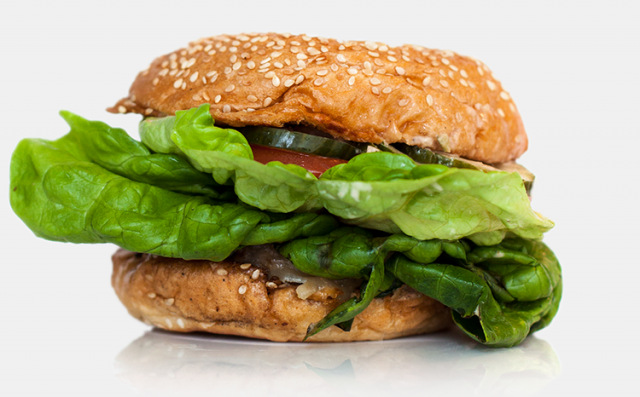 hamburger verdure