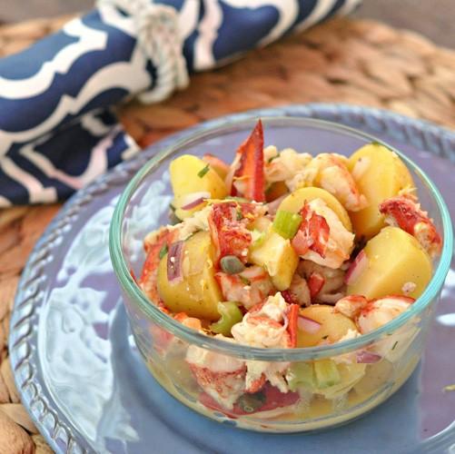 insalata di astice