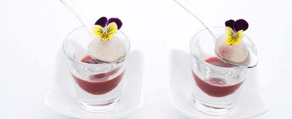 I jello shot secondo la ricetta del dolce americano sfizioso