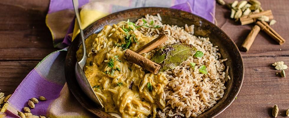 Riso Korma: piatto indiano