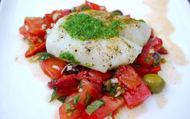 La ricetta del baccalà alla mediterranea facile da fare