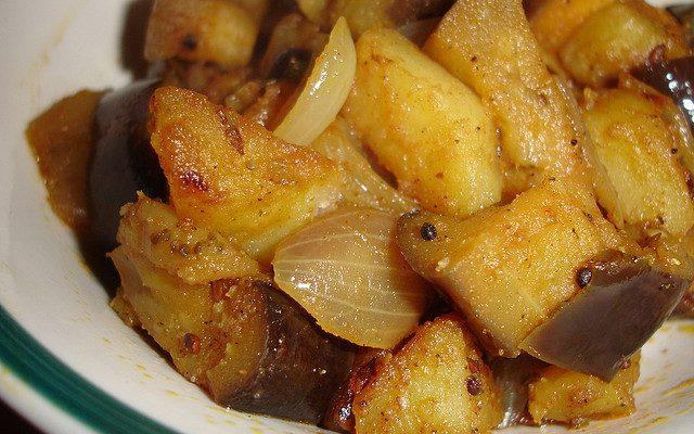 Ecco le melanzane con patate da fare in padella