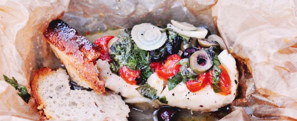 10 piatti da cucinare al cartoccio