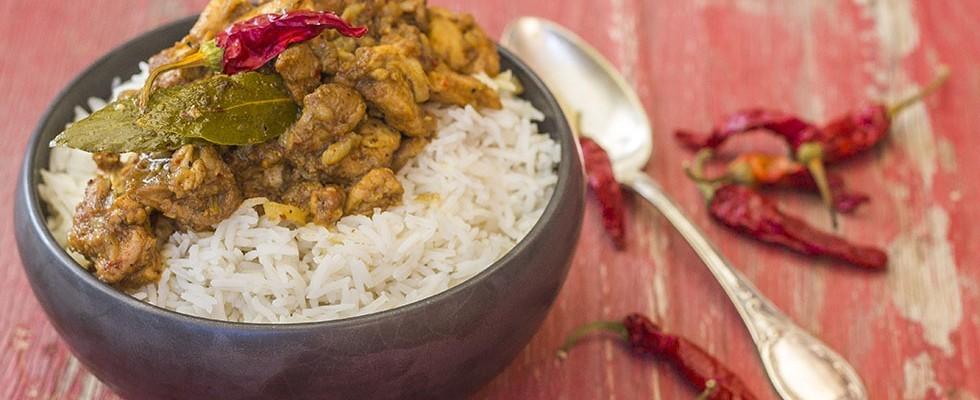 Pollo vindaloo: ricetta indiana