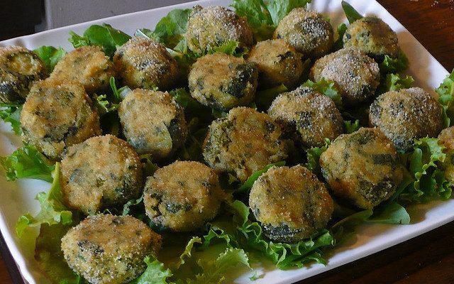 Le polpette di zucchine con la ricetta vegan