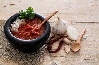 Salsa roja: piccante