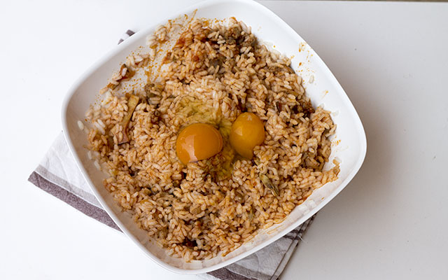 sartu di riso step7
