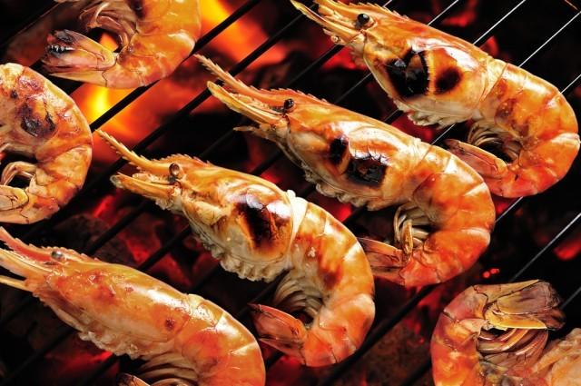 Crostacei alla griglia