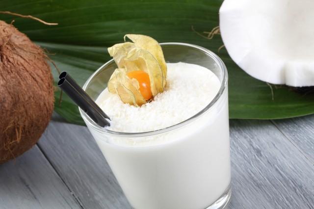 smoothie al cocco