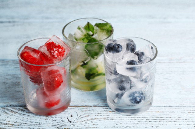 cubetti di frutta