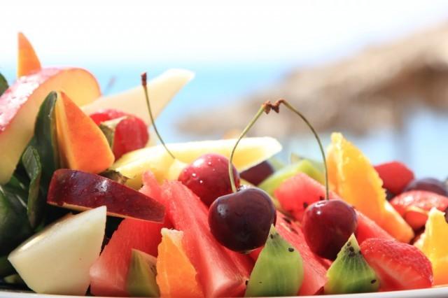 frutta a cubetti
