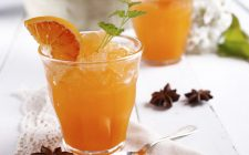Il sorbetto allo spritz per un aperitivo rinfrescante
