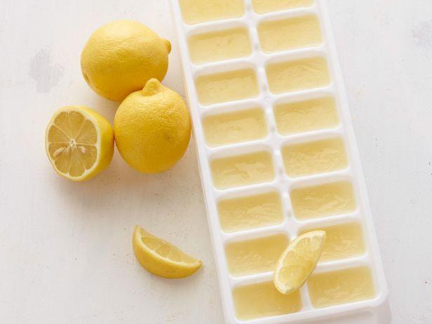 succo di limone a cubetti