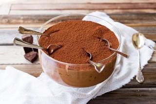 Tiramisù al cioccolato, variante ricca