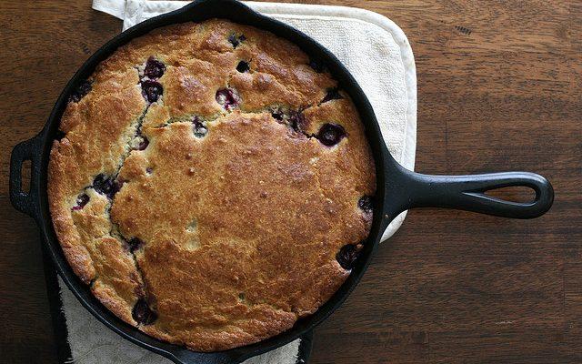 La torta ai mirtilli da preparare con il Bimby per la colazione