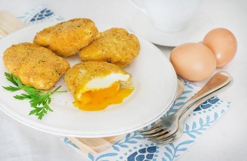 Uovo in camicia fritto