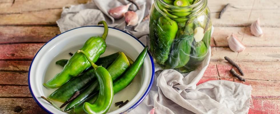 Peperoncini sottaceto: conserva versatile