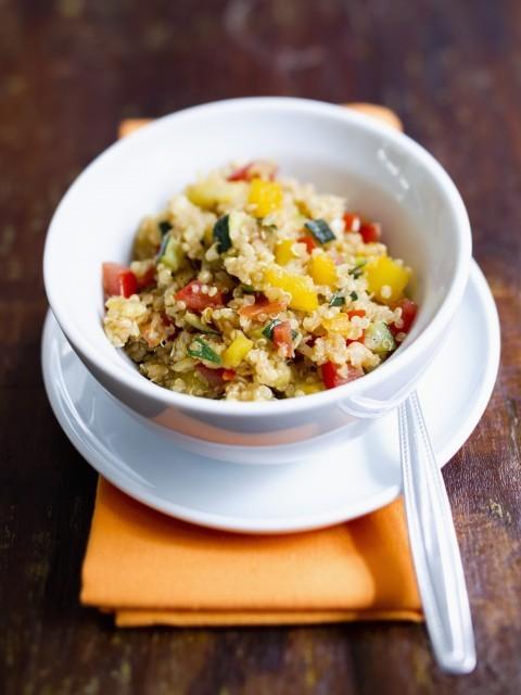 127 insalata di quinoa e pollo