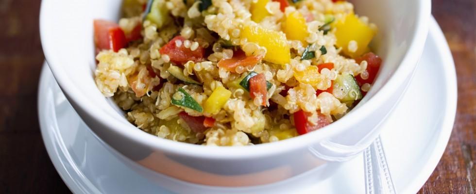 Insalata di quinoa e pollo