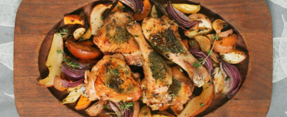 Coscette di pollo al limone con dragoncello e verdure: la ricetta sfiziosa
