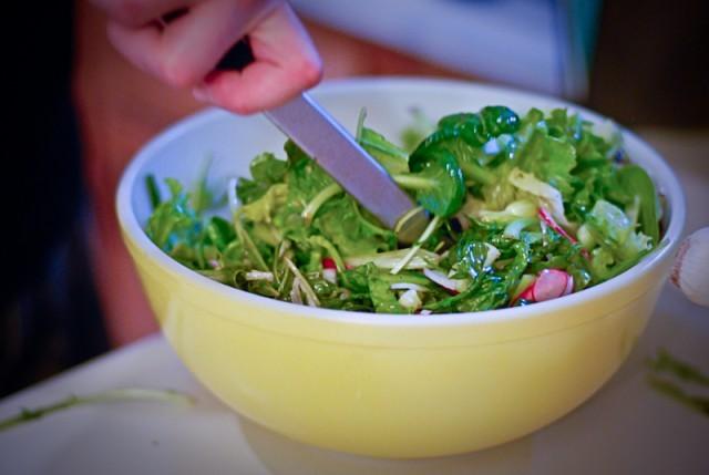 insalata già condita