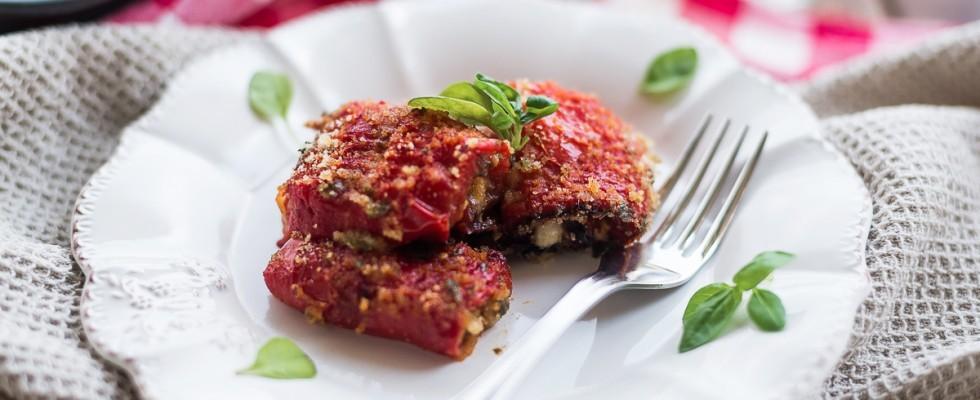 Involtini di peperoni: cucina vegetariana