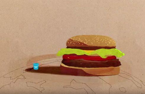 Burger King e la proposta a McDonald's: il McWhooper insieme per il Peace One Day
