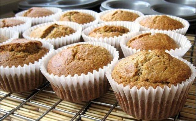I muffin alle nocciole e nutella per una merenda golosa